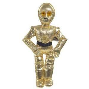 C3PO   Star Wars Saga Black Buddies Beanie Plush Toys & Games