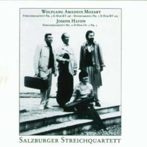 String Quartet 3 / String Quartet 11 Mozart, Haydn, Salzburger String