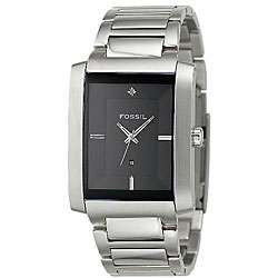 Fossil Mens Analog Black Dial Watch