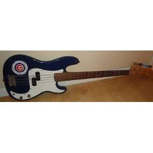 EDDIE VEDDER signed *PEARL JAM* CUBS guitar W/COA Sports