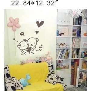 instant decoration wall sticker decor  Hug   22.84inch*12.32inch Baby