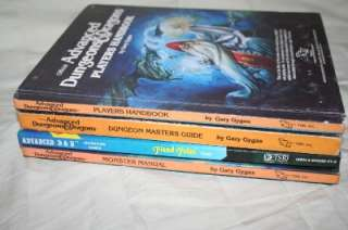 TSR Dungeons & Dragons RPG Role Playing Game D&D Module SET Books LOT