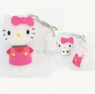 Cartoon New4GB Pink Hello Kitty USB2.0 Flash Memory Stick Pen Drive