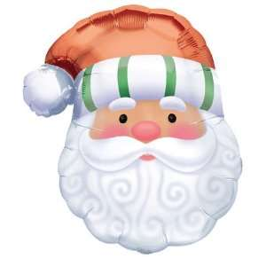 Santa Face Super Shape Balloon (1 ct) Toys & Games