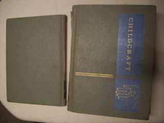 CHILDCRAFT  THE HOW AND WHY LIBRARY FOR CHILDREN   1964  VOLS 11,12