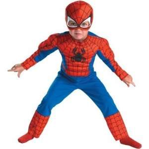 Disguise 177488 Spider Man Muscle Toddler Costume