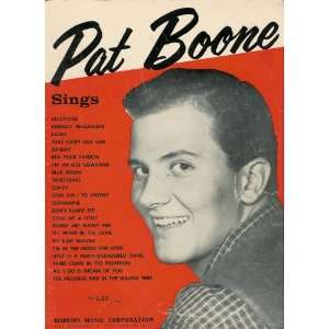 Pat Boone Sings Songbook 1957: Robbins Music Corp: Books