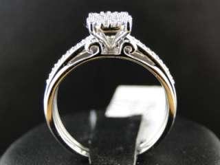 LADIES WOMENS ROUND CUT DIAMOND WEDDING ENGAGEMENT BRIDAL RING