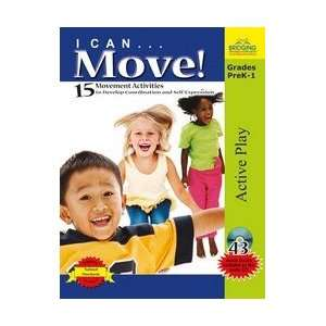 I Can Move   15 Movement Activities Book & CD Musical