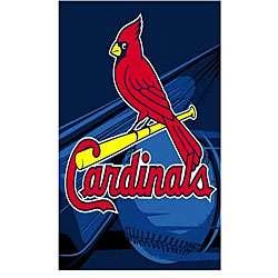 St. Louis Cardinals Logo Blanket