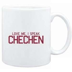 Mug White  LOVE ME, I SPEAK Chechen  Languages