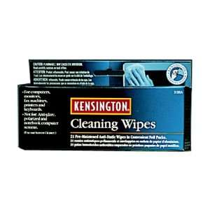 Kensington Cleaning Wipes Pre Moistened (60 Count): Electronics