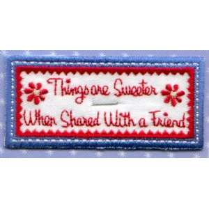 Things are Sweeter Applique / Iron On Arts, Crafts