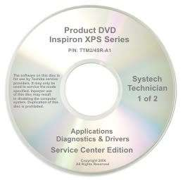 Dell Inspiron XPS Repair Restore Recovery CD DVD