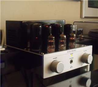 Audioromy Integrated Stereo Tube Amp! FANTASTIC SOUND & LOOKS!
