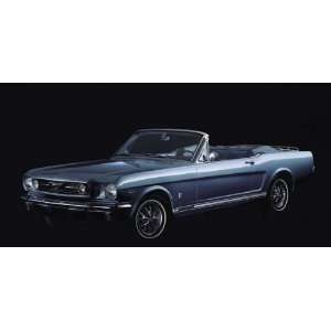 1965 Ford Mustang Convertible Poster Print 20x30