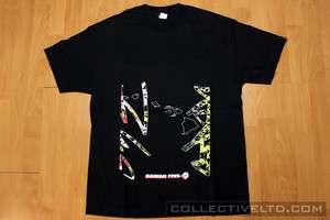 Hawaii Five O Futura x Stash Tee Shirt BLACK Large L