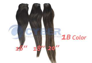 Long Straight Clip in Real Human Remy Hair Extensions