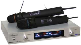 Pyle Pdwm2300 Dual Vhf Wireless Microphone System 068888727051