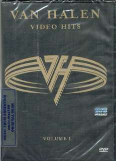 DVD VAN HALEN VIDEO HITS VOLUME 1 SEALED NEW GREATEST HITS BEST