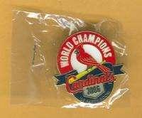 Series Champions St Louis Cardinals Logo Lapel Pin   UNUSED still