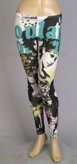 Long leggings   Color Magazine Prints