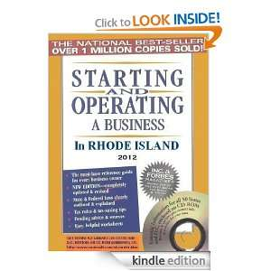 Starting and Operating a Business in Rhode Island (Starting and