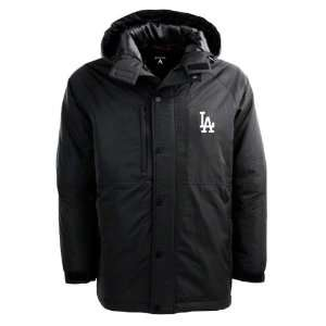 Los Angeles Dodgers Black Trek Full Zip Hooded Jacket