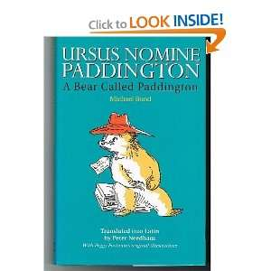 Ursus Nomine Paddington (BCP Latin Texts) (Latin Edition
