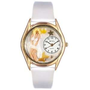 Whimsical Womens Marilyn Monroe White Leather Watch