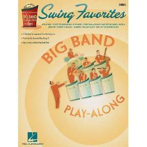 Swing Favorites   Drums   Big Band Play Along Volume 1