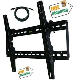 TILT TV WALL MOUNT 37 42 46 47 50 52 55 60 64 FREE 10 HDMI