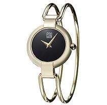 ESQ by Movado Elan Steel Gold Plated Womens Watch   Sams Club