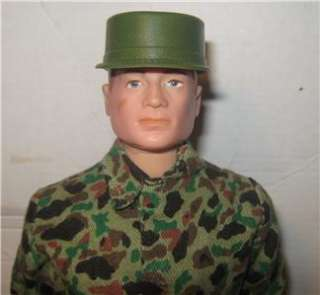 VINTAGE GI JOE ACTION MARINE RED HEAD TM MARKINGS 12 INCH