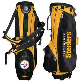 Pittsburgh Steelers NFL Carry / Stand Golf Bag New 883813404919