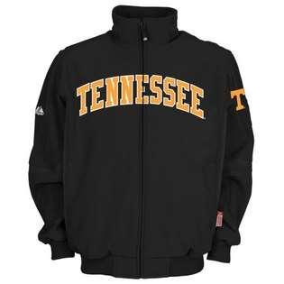 Tennessee Volunteers Black Premier Full Zip Jacket  Majestic Fitness