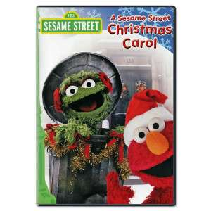 Sesame Street Christmas Carol DVD  Shop Ticketmaster Merchandise