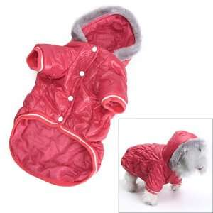 Pet Dog Hoodie Hooded Winter Puffy Coat Jacket   Size XL