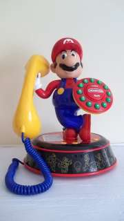 SUPER MARIO BROTHERS NINTENDO VOICE ACTIVATED PHONE