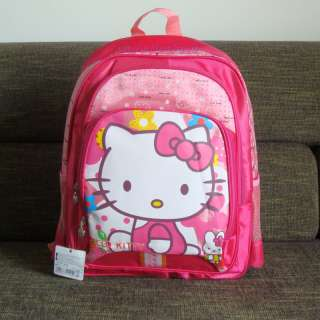 16 Hello Kitty satchel Backpack School Bag #6026