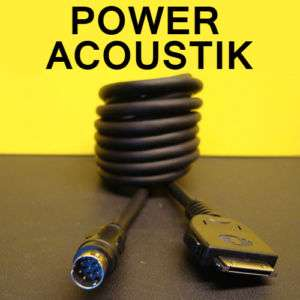 POWER ACOUSTIK iPOD AUX INTERFACE CONNECTOR CABLE iC1