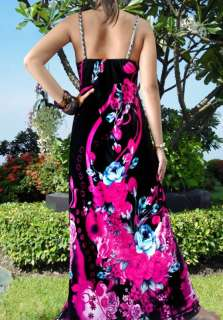 Evening Summer Sexy Women Long Maxi Dress Plus Size Sz M XXXL US