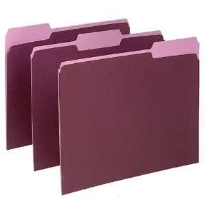 152 1/3BUR   Pendaflex Two Tone Color File Folder Office