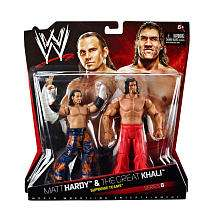 WWE Series 8 Action Figure 2 Pack   Matt Hardy vs. The Great Khali