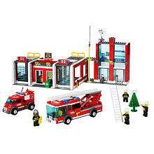 LEGO City Fire Station (7208)   LEGO