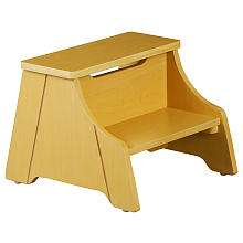 Solutions by Kids R Us Step Stool   Natural   Solutions by Kids R Us
