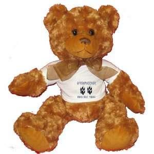 AFFENPINSCHER MANS BEST FRIEND Plush Teddy Bear with