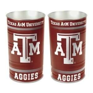 Texas A&M Aggies TAMU NCAA 15 Waste Basket: Sports & Outdoors