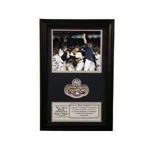 2009 New York Yankees World Series Champions STD Patch Frame
