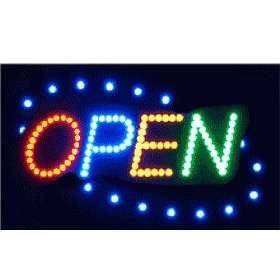 LED Display Sign Shop Door Window Advertising LED Board Outdoor Decor